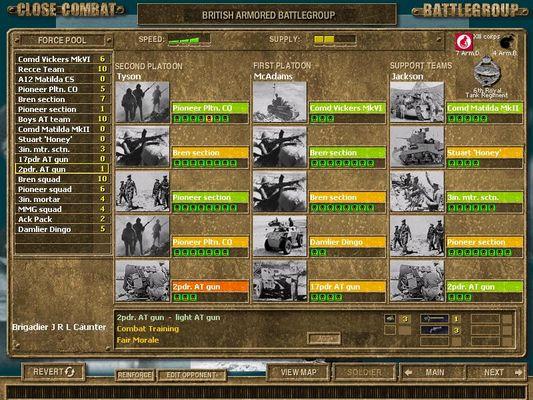 Close Combat Series > Close Combat Screenshots