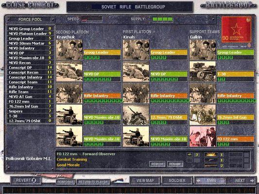 Close Combat Series > Close Combat Screenshots > Close