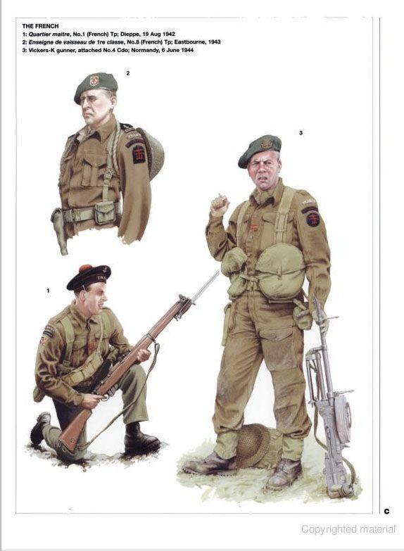 WW2 British Commando Uniform